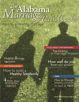 The Alabama Marriage Handbook cover