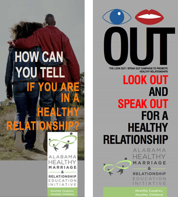 Relationship Safety brochure covers